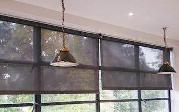 Black blinds