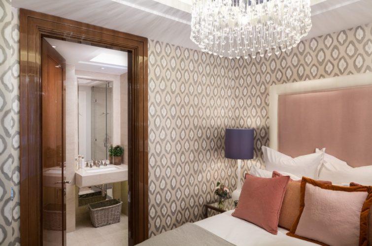 Ebury square master bedroom
