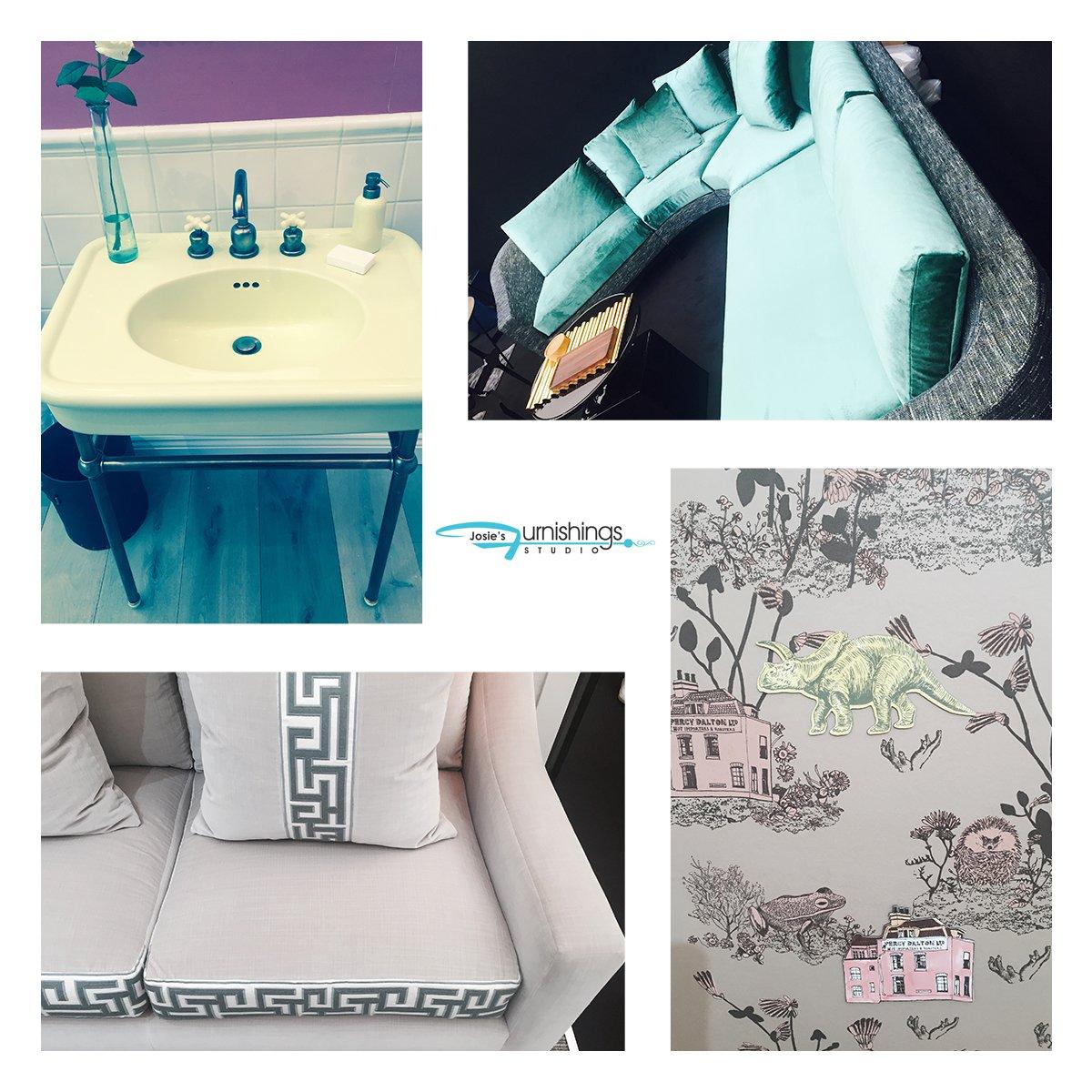 Interior design collage